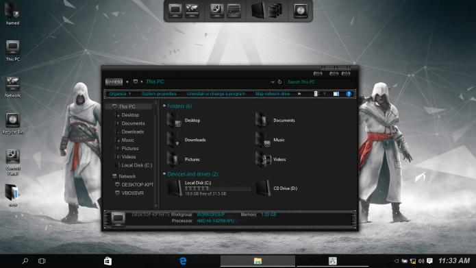 3 herramientas para personalizar carpetas y explorador de archivos, Windows 10